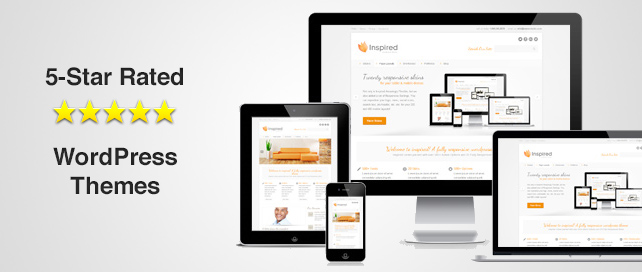 5 Star Rated Responsive WordPress Themes