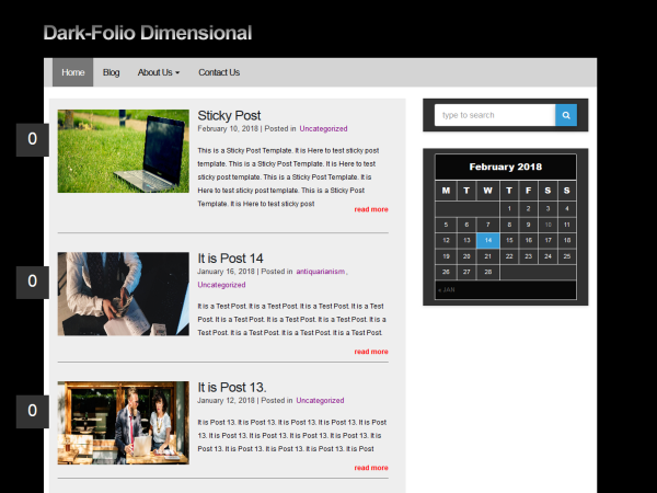 dark folio dimensional